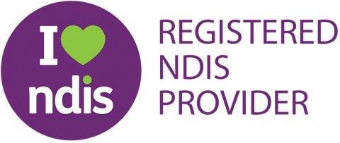 Registered NDIS logo