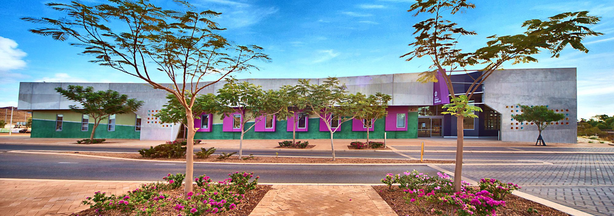 Outside view of Karratha Healthcare Clinic